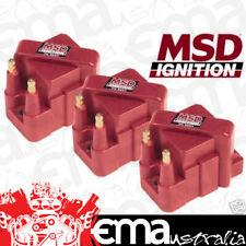 MSD Ignition MSD8224 Holden Commodore VN VP VR VS VT VX VY 40,000 V Coil (3 Pack