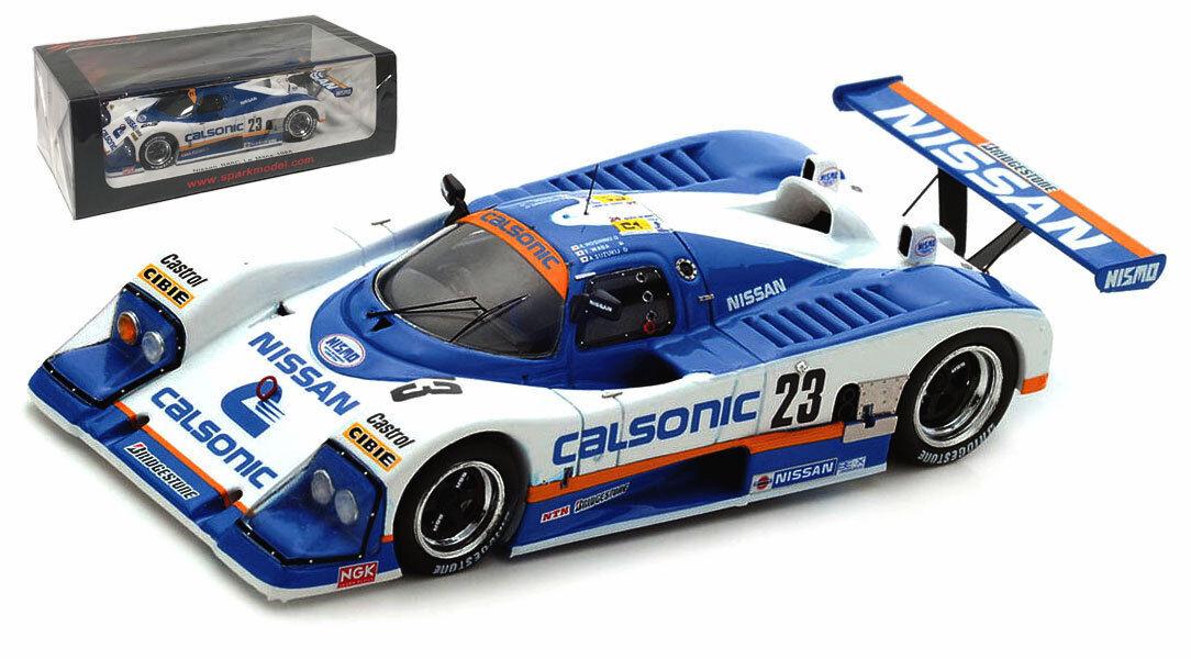 SPARK S5080 NISSAN R88C  23 Le Mans 1988-Hoshino AMA Suzuki échelle 1 43