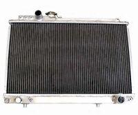 2 Row Performance Aluminum Radiator Fit For Toyota Supra 87-92 3.0l Turbo Mt