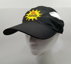 Racetrackers To Hot To Handle Running Hat Cap Size Adjustable Run On ... a6c373f1e01