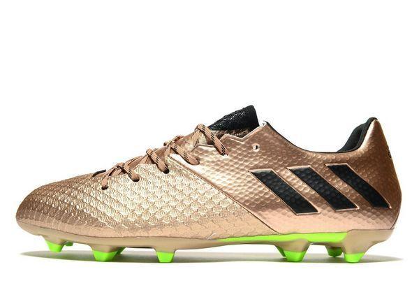 uomo Adidas Messi 16.2 FG Scarpe Da Calcio Misura 10 Regno Unito RRP .00