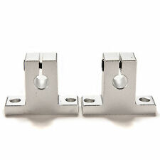 4pcs 10mm Sk10 Bearing Cnc Aluminum Linear Rail Shaft Guide Support Us Seller