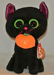 383076e3c3d 2018 Ty Beanie Boos Halloween POTION the Black Cat 6