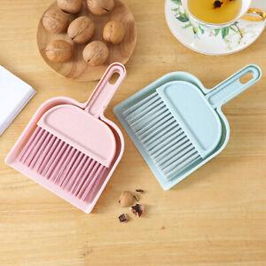 FJ-2Pcs-Desktop-Sweep-Cleaning-Dust-Brush-Broom-Dustpan-Table-Corner-Besom-Clea