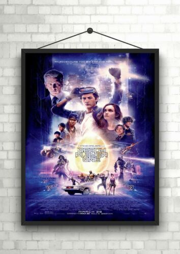 Ready Player One Large Movie Poster Art Print A0 A1 A2 A3 A4 Maxi