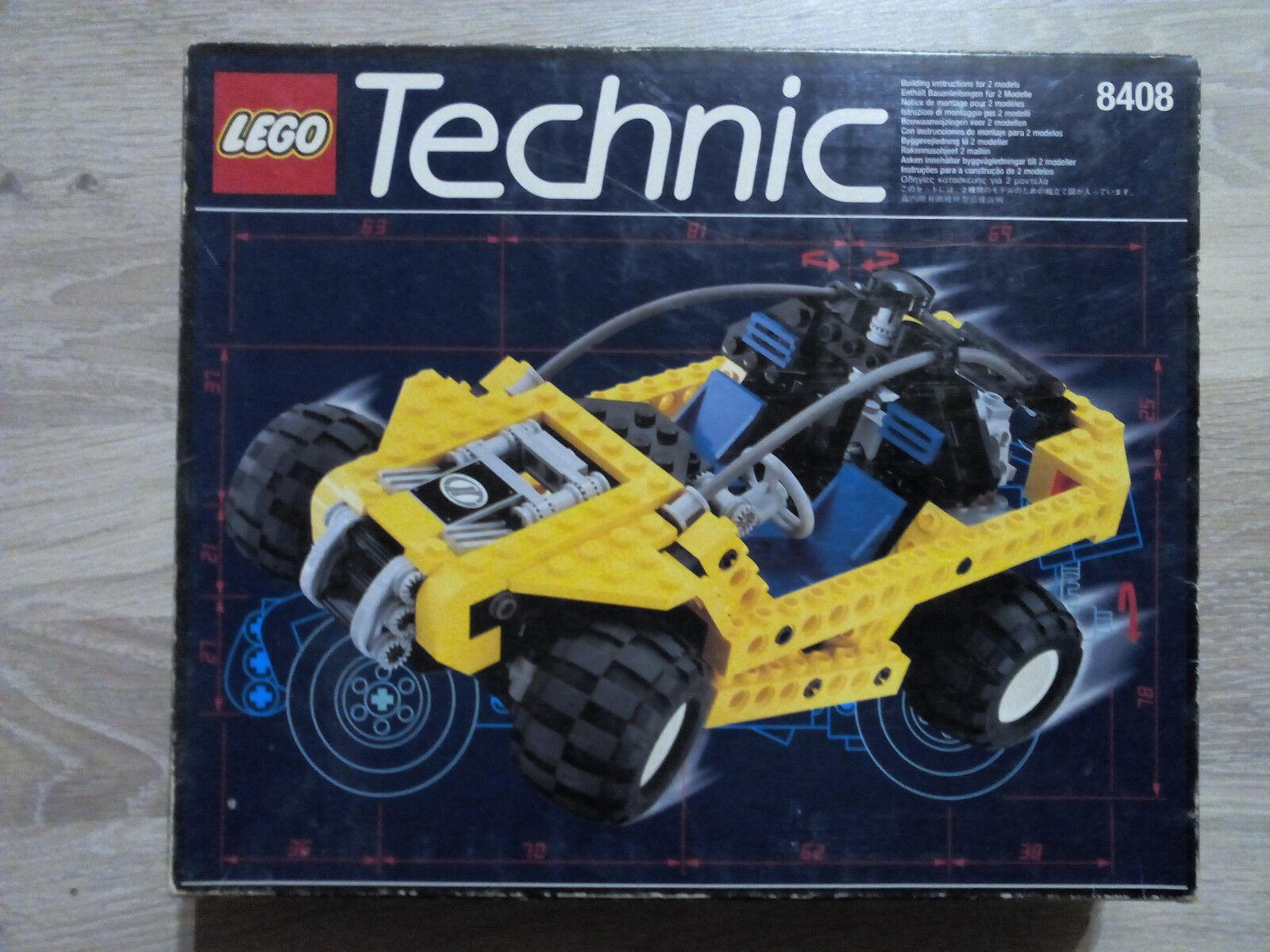 Lego Technic Technik 8408 Desert Ranger   GUTER ZUSTAND - RARITÄT    Verrückter Preis