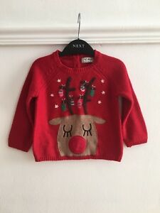 Next Christmas Jumpers.Details About Baby Girls Next Christmas Jumper Age 12 18 Months Xmas Top