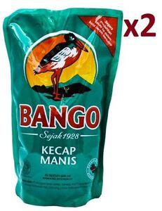 2 Packs Kecap Manis Indonesian Sweet Soy Sauce 600 Ml 20 2 Oz X 2