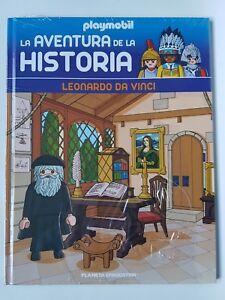 Playmobil-Coleccion-Libros-La-Aventura-Historia-N-55-Leonardo-Da-Vinci-Libro