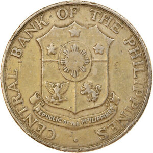 [#919555] Coin, Philippines, 25 Centavos, 1964, VF(30-35), Copper-Nickel-Zinc