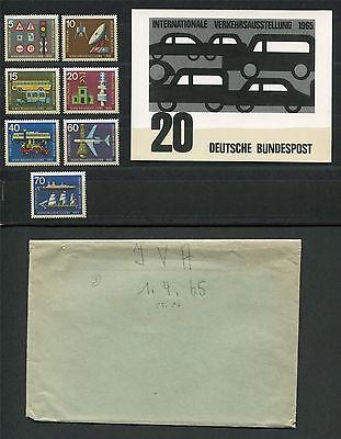 Brd Foto-essay 468/474 Iva 1965 Auto Entwurf Cars Photo-essay Proof E444 Moderne Techniken