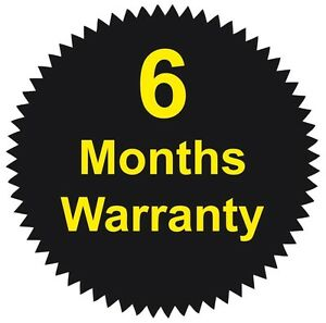 41mm Starburst - 6 Months Warranty Stickers - Various Pack Sizes Available