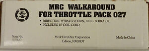 MRC Walk Around For Throttle Pack 0 Guage AH920 New