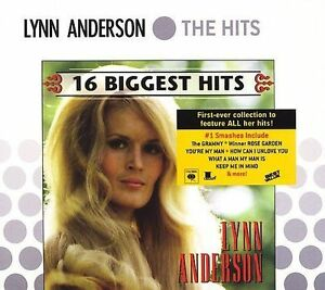 FREE US SHIP. on ANY 3+ CDs! USED,MINT CD Lynn Anderson: 16 Biggest Hits