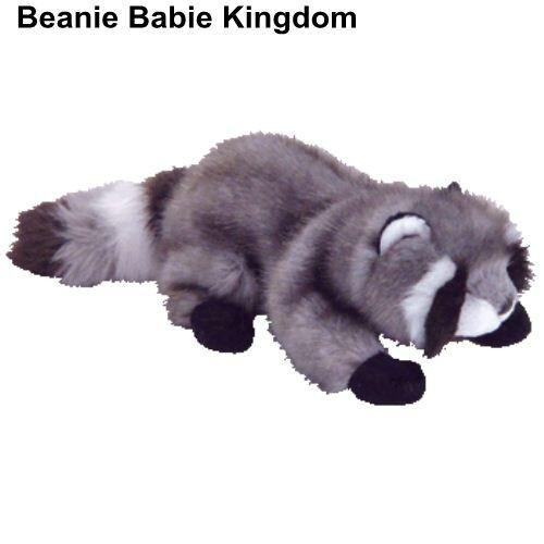 TY BEANIE BABIE * SNOOPS * THE RACCOON - VERY RARE BEANIE BABY