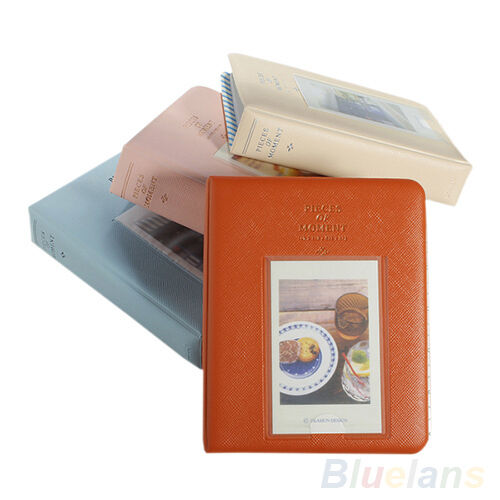 New Instax For Polaroid Album Case Photo Storage Mini Film Size 64 Pockets B8BU
