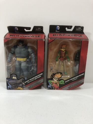 La nuit sombre retours Dc Comics Multi-Univers Armored Batman et Robin