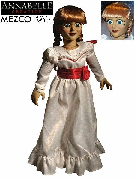 Mezco The Conjuring Annabelle Creation Doll Scaled Prop Replica New