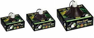 Exo-terra Vivarium, Terrarium Clamp Lamp Glowlight & Reflectors Vloeiende Circulatie En Pijn Stoppen