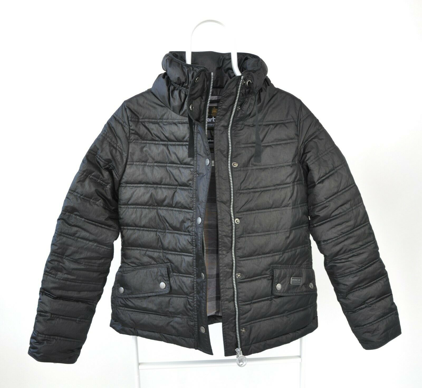 WOMENS BARBOUR INTERNATIONAL 'CROWN' QUILTED PUFF… - image 3