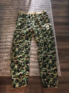 Details about Bape x Undefeated Color Camo Sweatpants