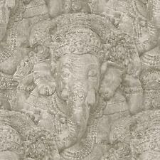 Rasch Pietra Ganesha fotografica Carta da parati pattern Realistico Finta Effetto elephan