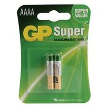 Batteria Super Alcalina AAAA (pk 2) Batterie Non-Rechargeable - cm87608