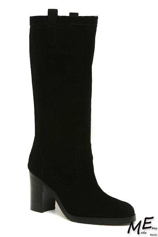 New Lauren Ralph Lauren Devona Women Boots Size 9 Black (MSRP  240)