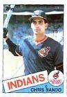 1985 Topps Chris Bando #14 Baseball Card