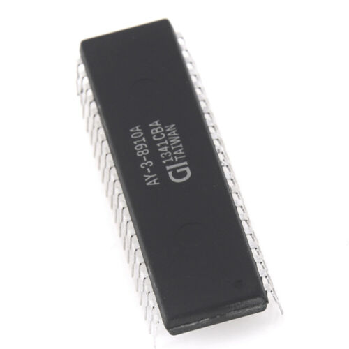 AY-3-8910A Programmable Sound Generator IC DIP40 UK