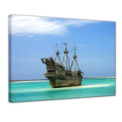 PHOTO-Bateau de pirates dans les Caraïbes