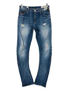 G-STAR RAW 3301 Women Blue Slim Fit Jeans W27 L32