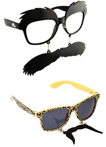 Neuheit Schnurrbart Brille Kostüm Sonnenbrille Tash Witz Goft