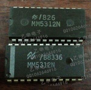 NS MM5312N DIP-24 DIGITAL CLOCKS