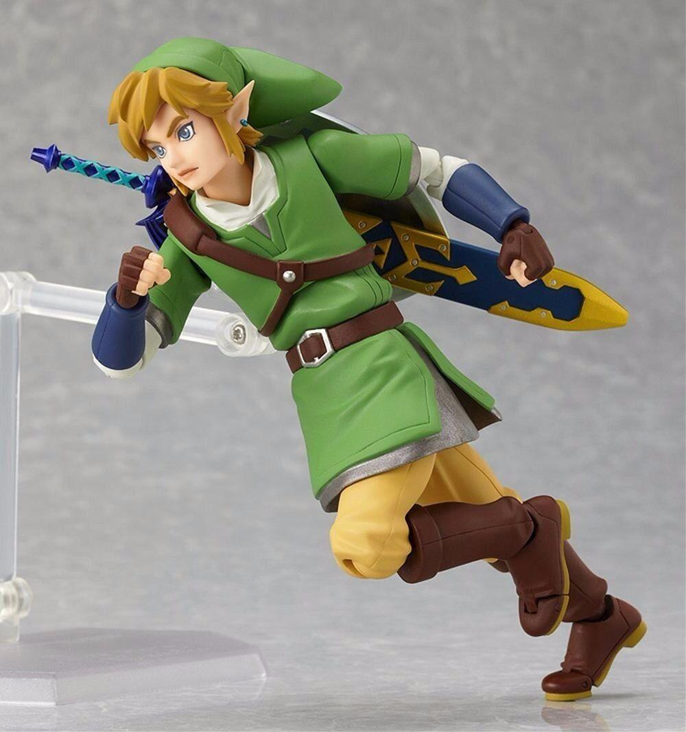 Figma 153 153 153 The Legend of Zelda Skyward Sword Link Figure Good Smile Company NEW 190c4c