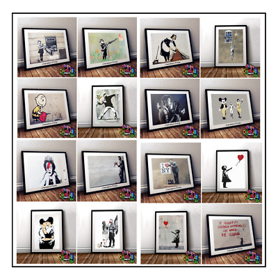 A4 Maid *DISCOUNTED OFFERS*  A3 New Poster Print Banksy