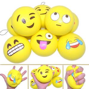Details about Squishy Toy EMOJI face HOT DOG Fridge stick Magnet Banana  Cute Play Fun Prank
