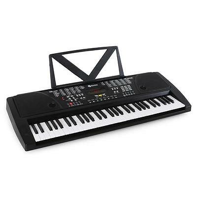 DIGITAL 61-TASTEN KEYBOARD E-PIANO KLAVIER LED DISPLAY LERN FUNKTION 100 SOUNDS