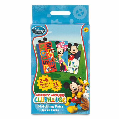 Disney Store Mickey Mouse Clubhouse Matching Pairs Game
