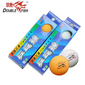 6-Pcs-120-Pcs-New-Double-Fish-3-Stars-40MM-Olympic-Table-Tennis-Ping-Pong-Balls