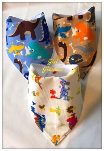 Dinosaurs Dribble Bib Bibs Bandana Bow Tie Fabric Arlo The Good Baby Food Putfit