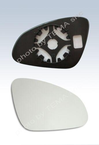 Specchio retrovisore OPEL Adam 2013 -piastra aggancio+vetro destro