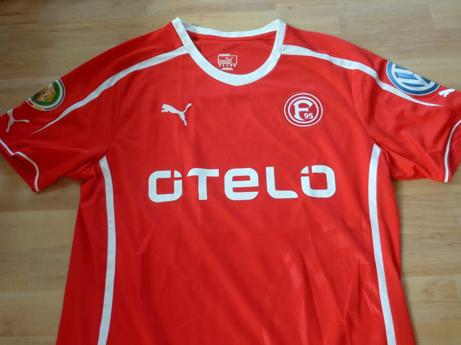 Spieler Trikot Fortuna Düsseldorf  15 Paurevic 2013-14 Pokaltrikot signiert  XL