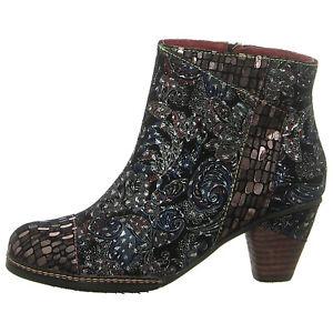 NEU LAURA VITA Schuhe Stiefelette ALIZEEO 069 1293-6H noir schwarz