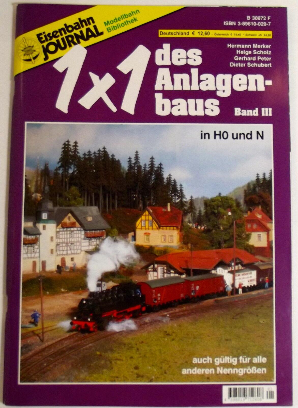 Eisenbahn Journal Modellbahn Bibliothèque 1x1 des 'Usine Bande III
