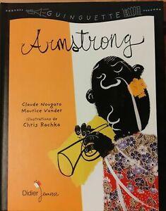 Armstrong-Claude-Nougaro-Didier-Jeunesse-Album-illustre-pour-enfants