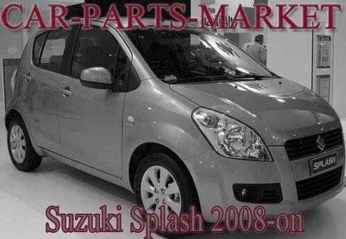 Côté Gauche Grand Angle Aile Miroir De Verre Pour Suzuki Splash 2008-2014 Chauffé Plaque