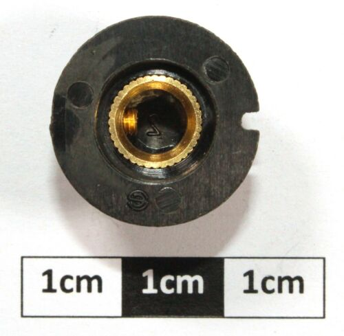 """Fini Mat Bouton K14 B 19.5 x 15 mm 1//4/"""" Arbre"""