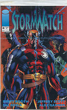 Stormwatch Issue #0 (August 1993, Image Comics) Factory Sealed Bag  Promo Card