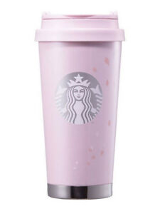 Starbucks Korea 2017 Spring limited cherry blossom SS Elma Tumbler 473ml+track
